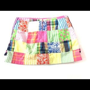 Lilly Pulitzer Bottoms - Lilly Pulitzer Skirt Patch work